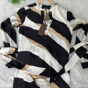 Gucci Dresses - Gucci belted shift dress 44 Authentic